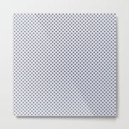 Velvet Morning Polka Dots Metal Print