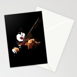 Paganini Devil Violinist 2 Stationery Cards