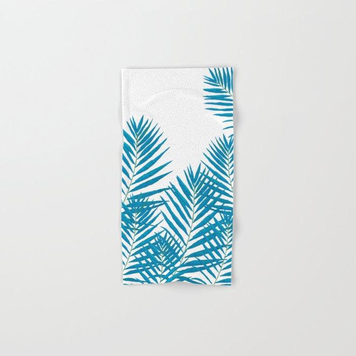 Fern Blue Hand & Bath Towel