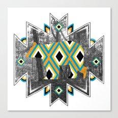 Bear Tracks I Canvas Print