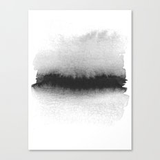 Black and White Horizon Canvas Print