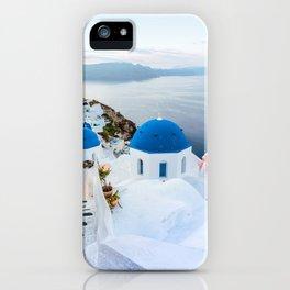 Beautiful Greece Views iPhone Case