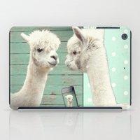 selfie iPad Cases featuring SELFIE by Monika Strigel
