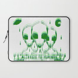 Allergic to Humans Laptop Sleeve