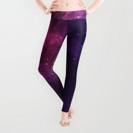 The Colorful Universe Shining Stars artwork Leggings