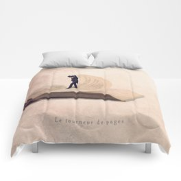 The page turner Comforters