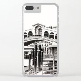 Ponte di Rialto (Rialto Bridge) Clear iPhone Case