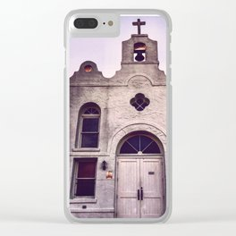 I must confess Clear iPhone Case