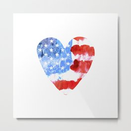 Love USA. aRT#2 Metal Print