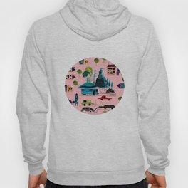 CityView pink Hoody