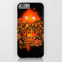 Pocket Calcifer iPhone Case