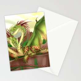 Zippleback httyd barf and belch Stationery Cards