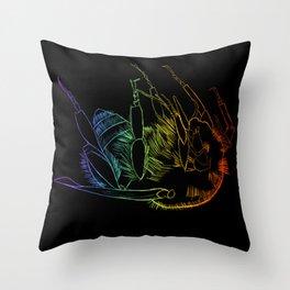 Bee of life Throw Pillow