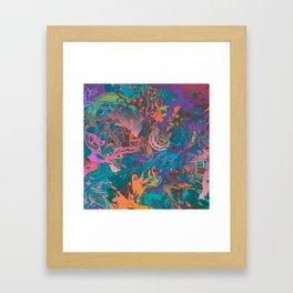 Blasted Framed Art Print