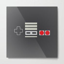 NES Legacy Metal Print