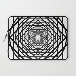Diamonds in the Rounds B&W Laptop Sleeve