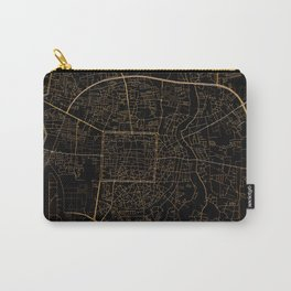 Chiang Mai map, Thailand Carry-All Pouch