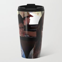 Possessed Regan from The Exorcist and Forrest Gump Travel Mug