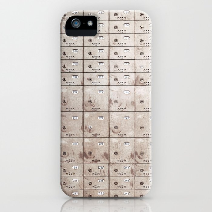 Locker iPhone Case