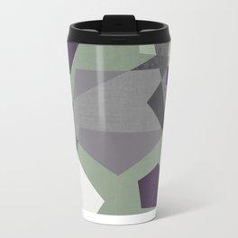 Sekskant + gray Metal Travel Mug