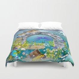 Unterwasserlandschaft Duvet Cover