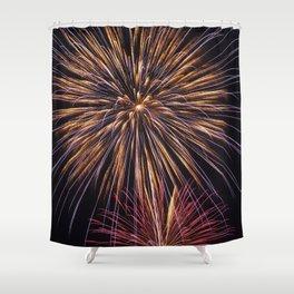 Fireworks Fantasy Shower Curtain