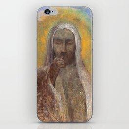 Christ In Silence  - Odilon Redon iPhone Skin