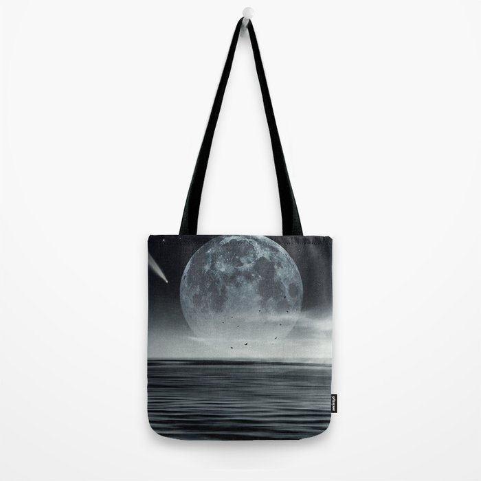oceans of tranquility Tote Bag