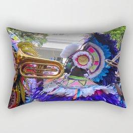 Bahamas musician Rectangular Pillow