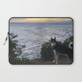 Wolfie the Siberian Husky No.2 Laptop Sleeve