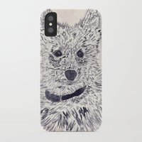 puppy iPhone & iPod Cases featuring Puppy by echoes