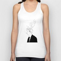 true detective Tank Tops featuring True Detective by Burcu Aycan