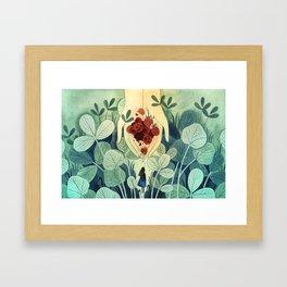 Berry Season Framed Art Print
