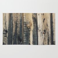 woody Area & Throw Rugs featuring Woody by Sproot