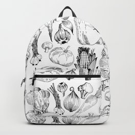 market fresh vegetables Backpack