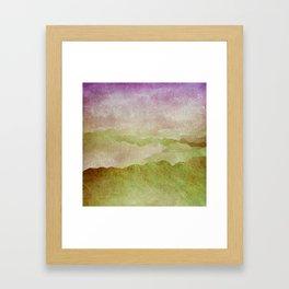 Smoky Mountains II - Appalachian Spring Framed Art Print