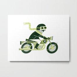 Motorbike Metal Print