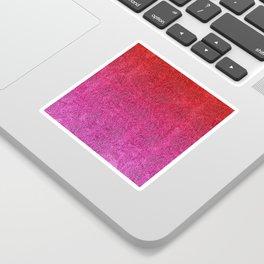 Valentine Glitter Gradient Sticker