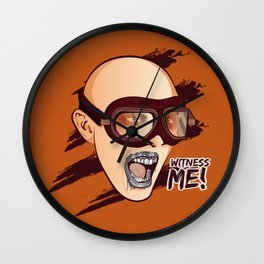 Witness Me Wall Clock