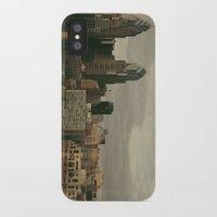 philadelphia iPhone & iPod Cases featuring Philadelphia by Katie Leva