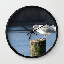 Big Gull in Poulsbo, WA Wall Clock