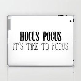 Hocus Pocus Time to Focus Laptop & iPad Skin