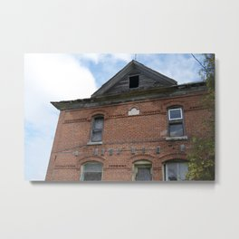Red Brick Dreams Metal Print