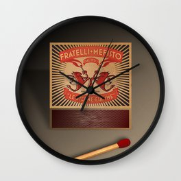 Fratelli Mefisto Wall Clock