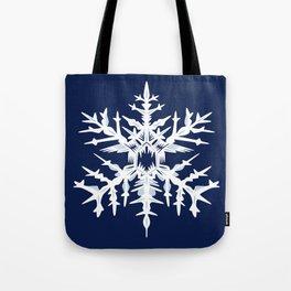 Evil Snow Tote Bag