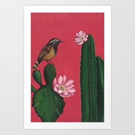 Blossoming Growth Art Print