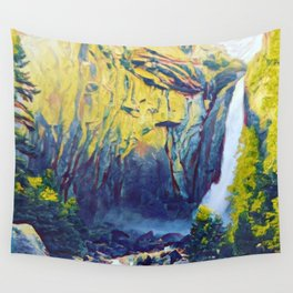 The Gorge (Waterfall) Wall Tapestry