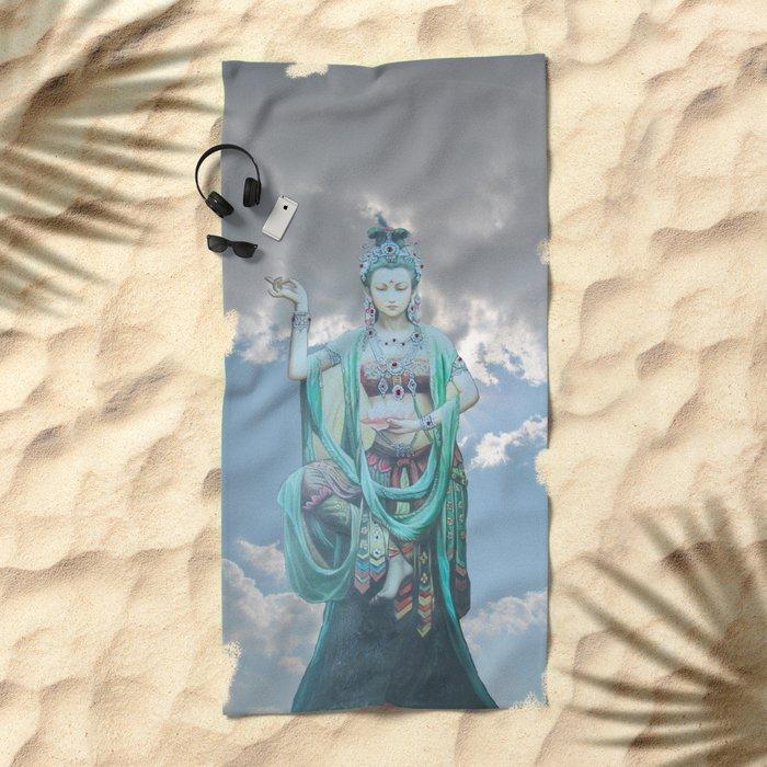 Compassion Beach Towel