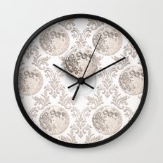 In which the moon frees itself  Wall Clock