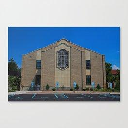 Lourdes University-  Franciscan Center in the Spring VII Canvas Print